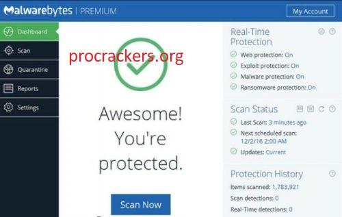 Malwarebytes Anti-Malware 4.4.7.134 Crack With License Key 2021