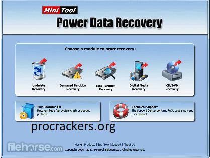 MiniTool Power Data Recovery 10.1 Crack With Serial Key 2022 Free